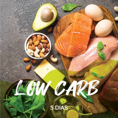 Programa Low carb 5 dias