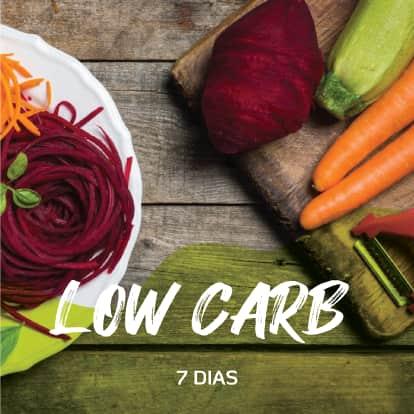 Programa Low carb 7 dias