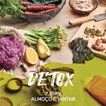 Detox | 7 dias (Almoço e Jantar)
