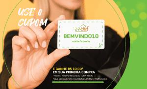 Cupom BEMVINDO10