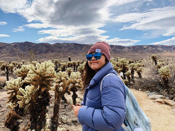 Me at Joshua Tree Dec 2019