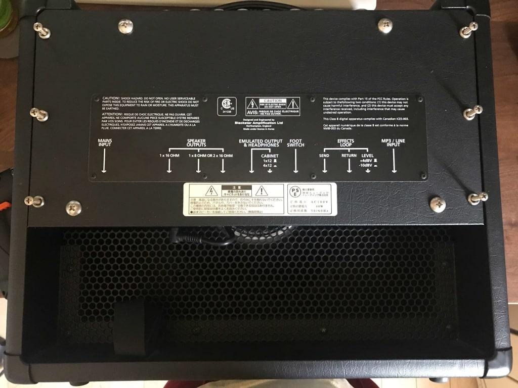 HT-5Rのバックパネル