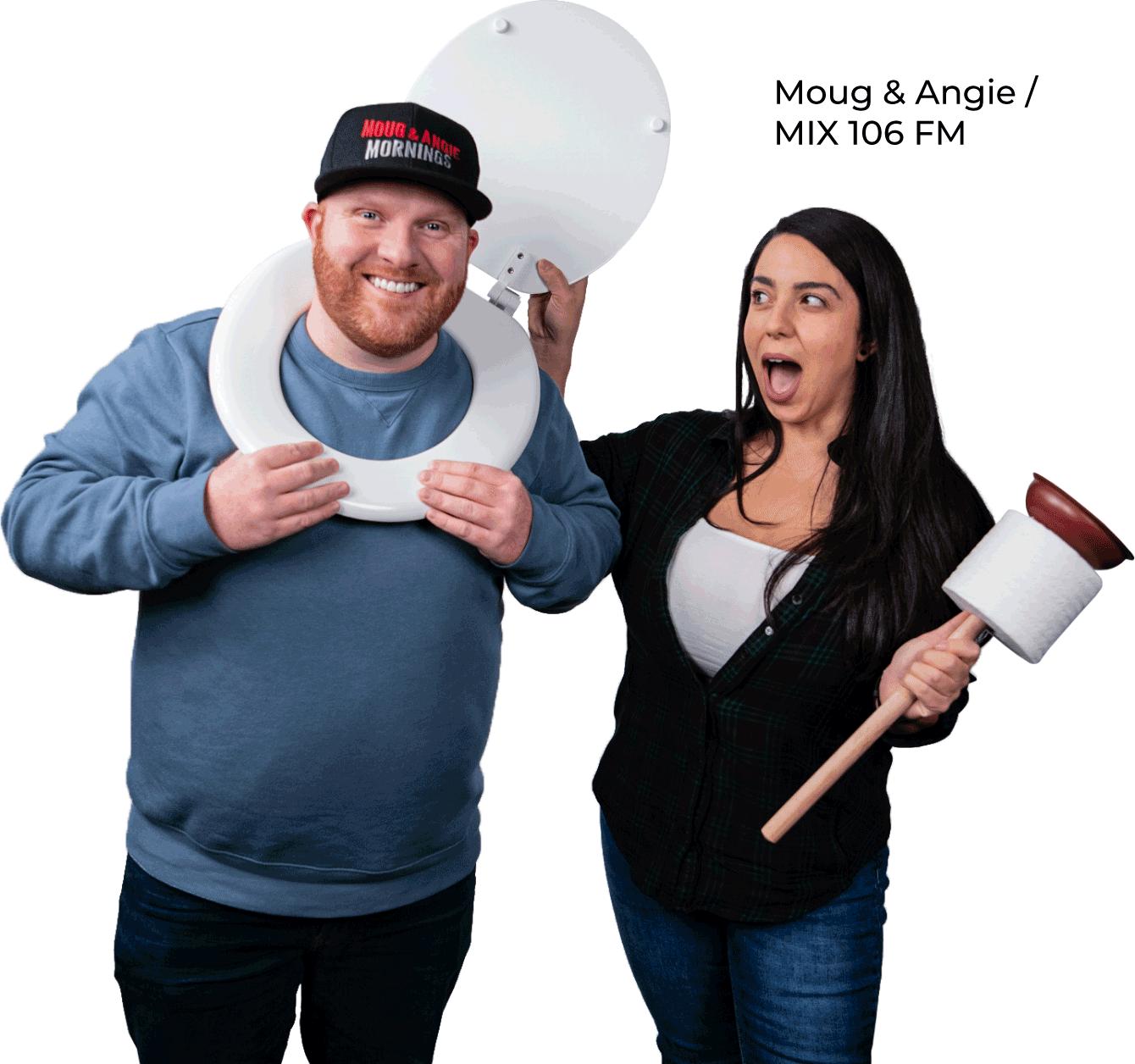 Moug and Angie