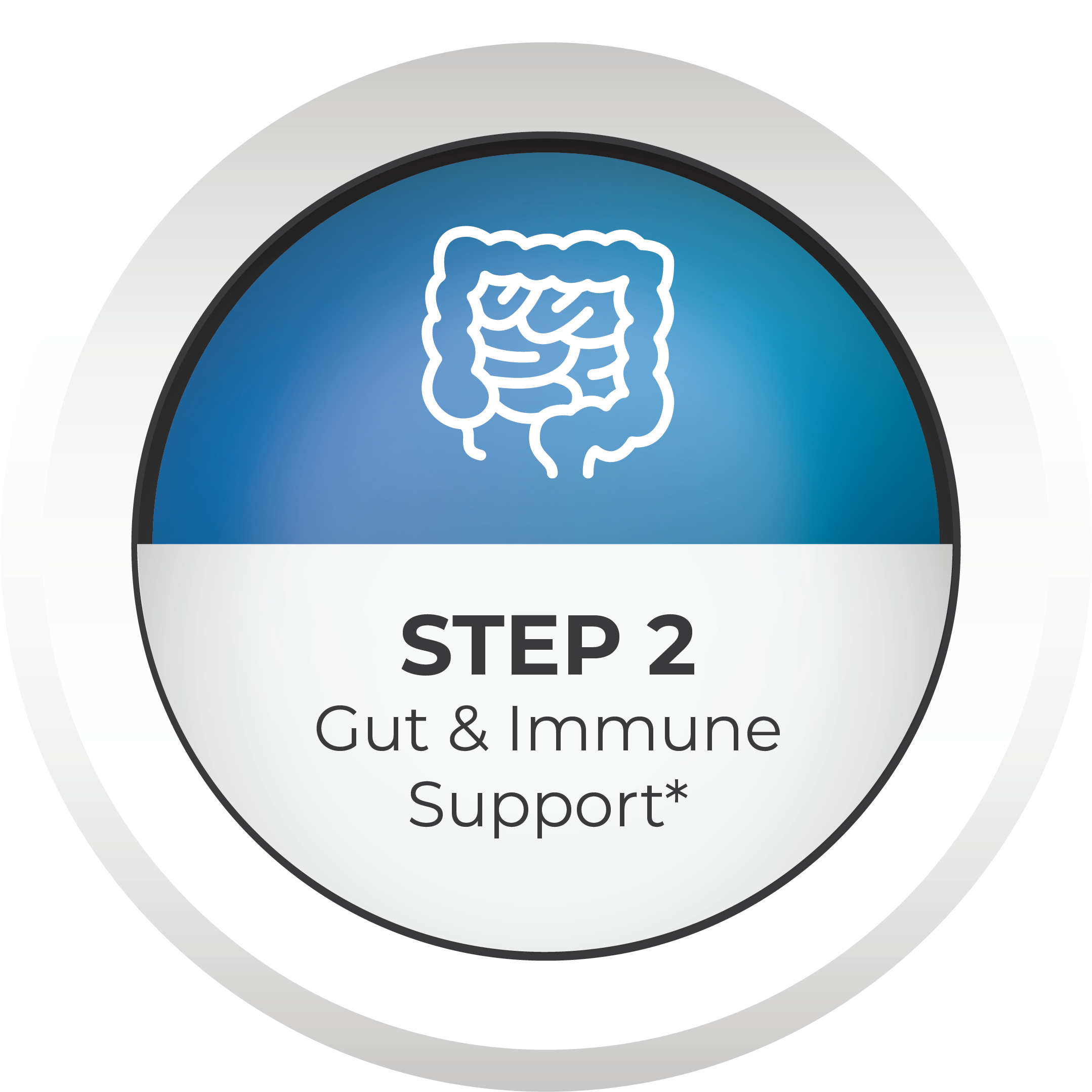 step 2 Gut and Immune Support Icon icon