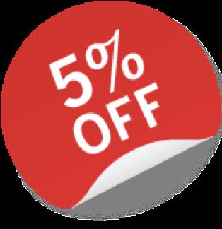 5% Off Image