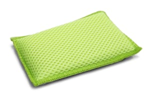 Small Microfiber Mesh & Terry Kitchen & Dish Sponge (5.25 in. x 3.5 in.)