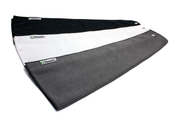 Greenside Microfiber Golf Towel Set - 3 pack