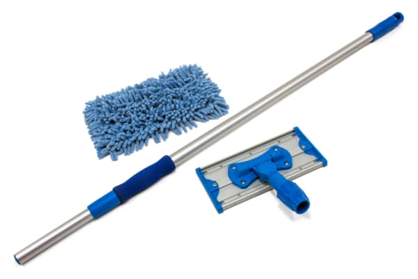 Doodlebug Apartment Mop Kit with 70'' Aluminum Pole and Chenille Mop Pad