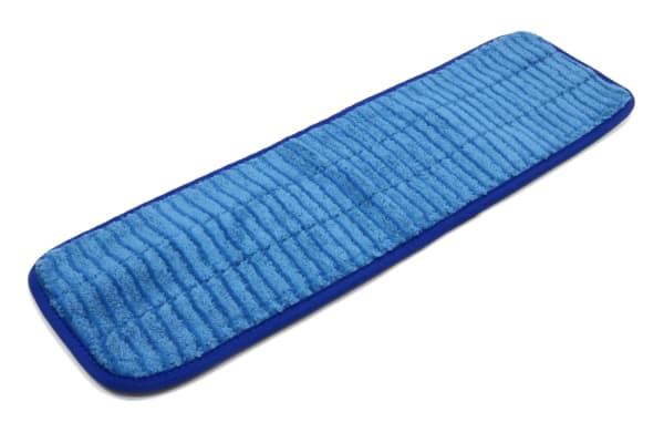 20'' x 5.5'' Microfiber Scrubber Mop Pad - Vertical Stripes