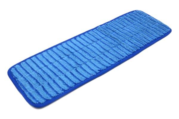 18'' x 5.5'' Microfiber Scrubber Mop Pad - Vertical Stripes
