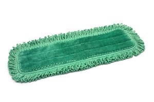 18'' x 5.5'' Microfiber Fringe Dust Mop Pad
