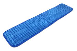 26'' x 5.5'' Microfiber Scrubber Mop Pad - Vertical Stripes