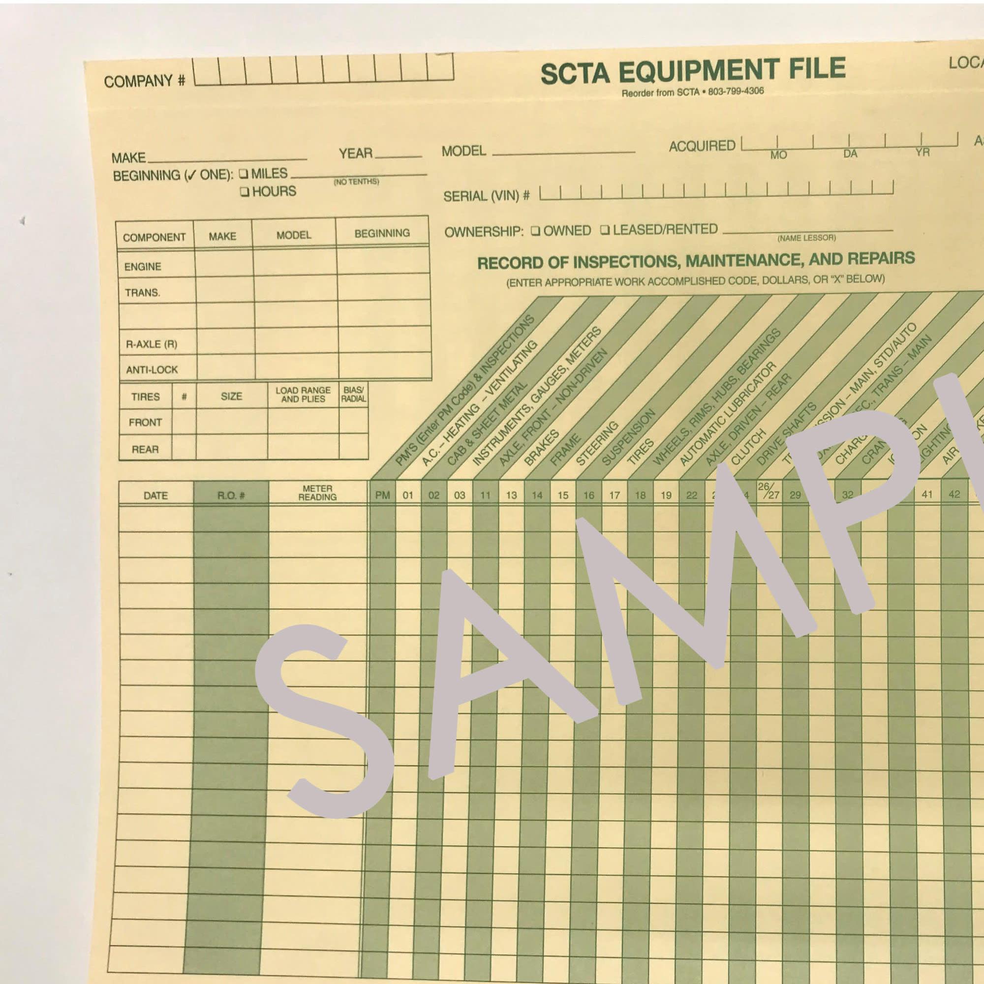 Equipment File