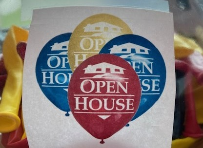 Open House Balloon provided by Williamson County Association of Realtors®