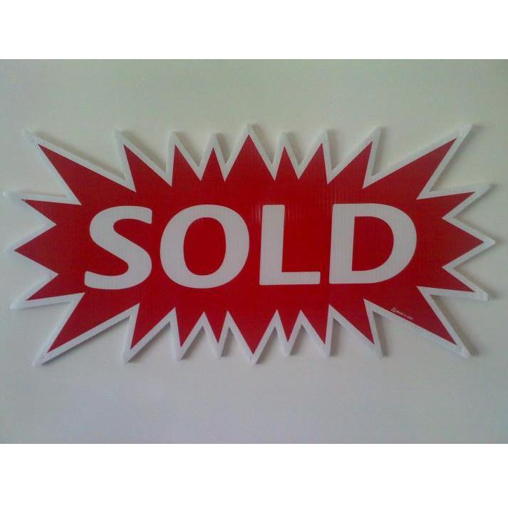 Starburst Sign - Sold