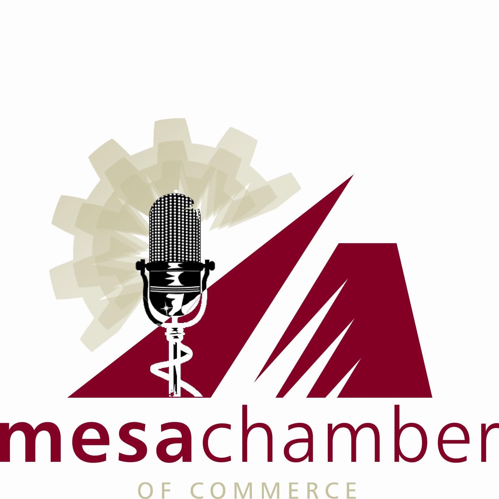 Mesa Chamber inside business Podcast logo