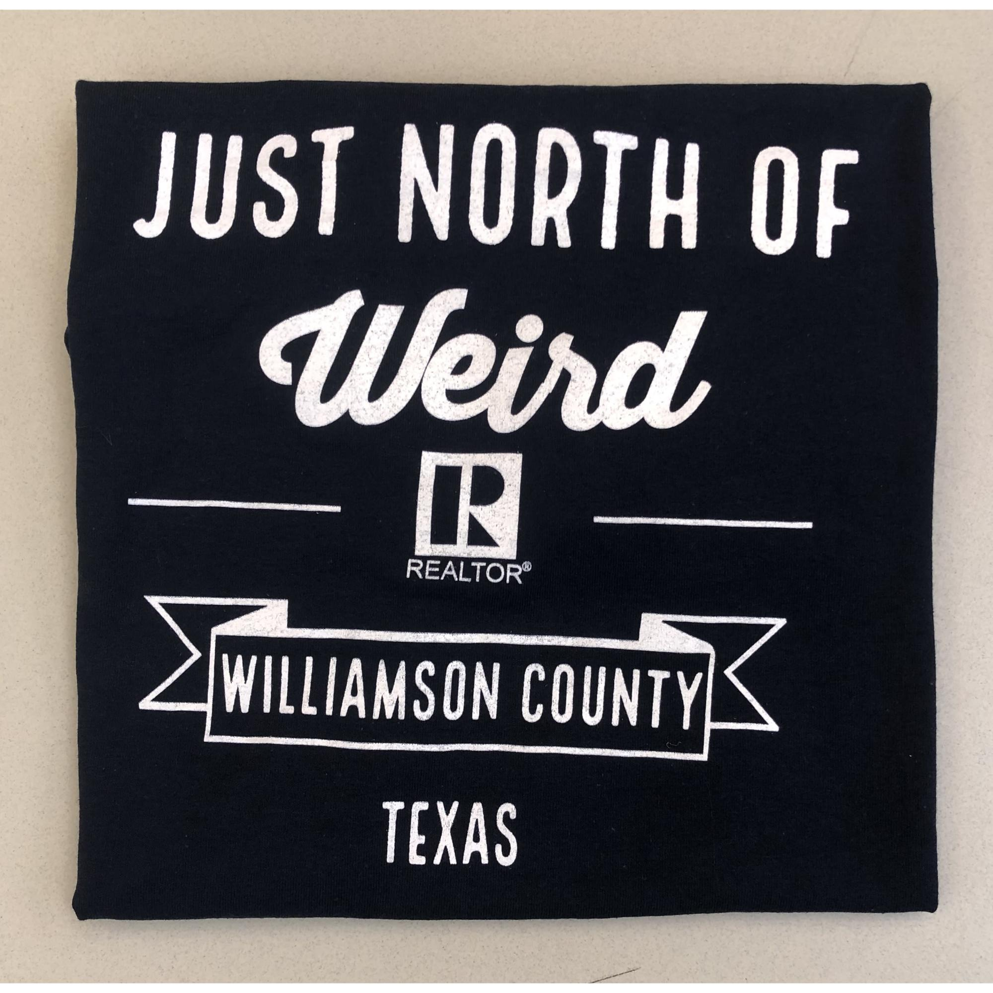 Just North of Weird NAVY REALTOR® Crew-Neck provided by WCREALTORS
