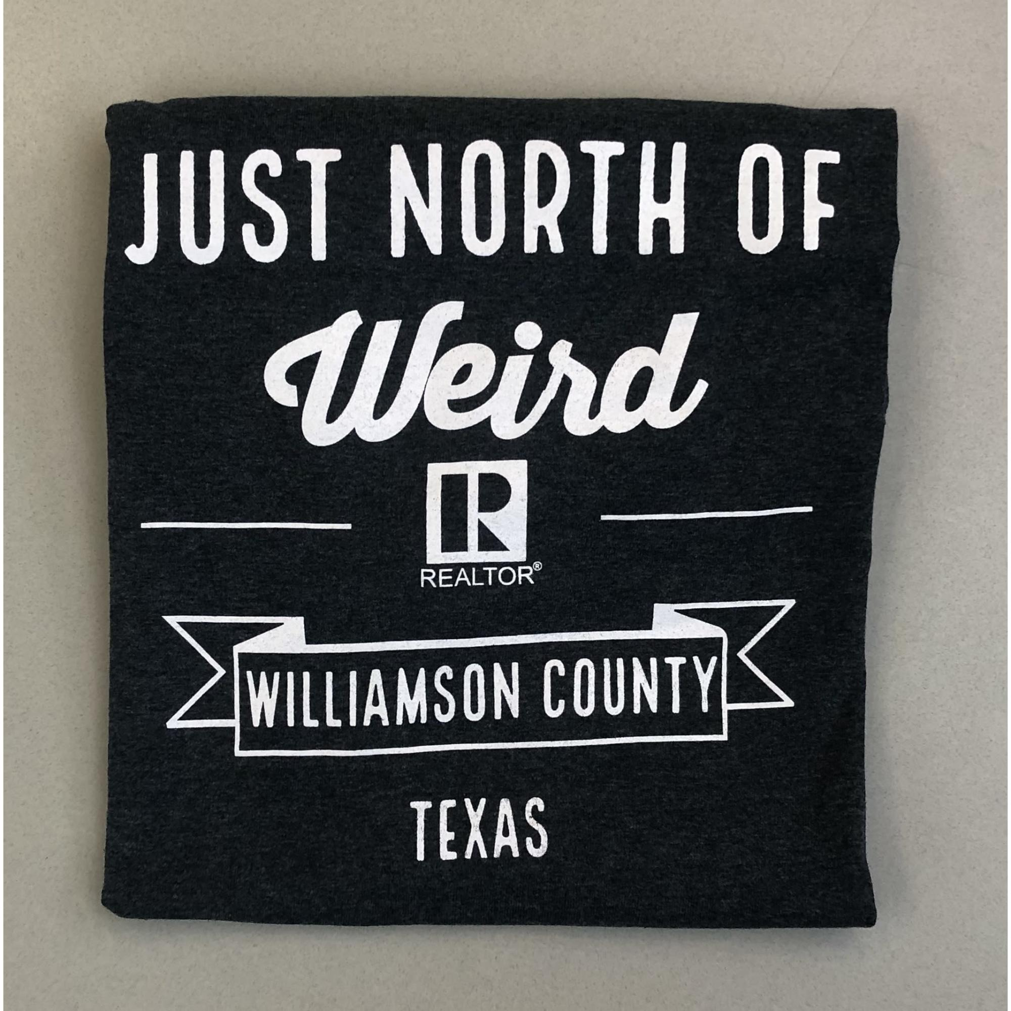 Just North of Weird DARK GREY REALTOR® Crew-Neck provided by WCREALTORS