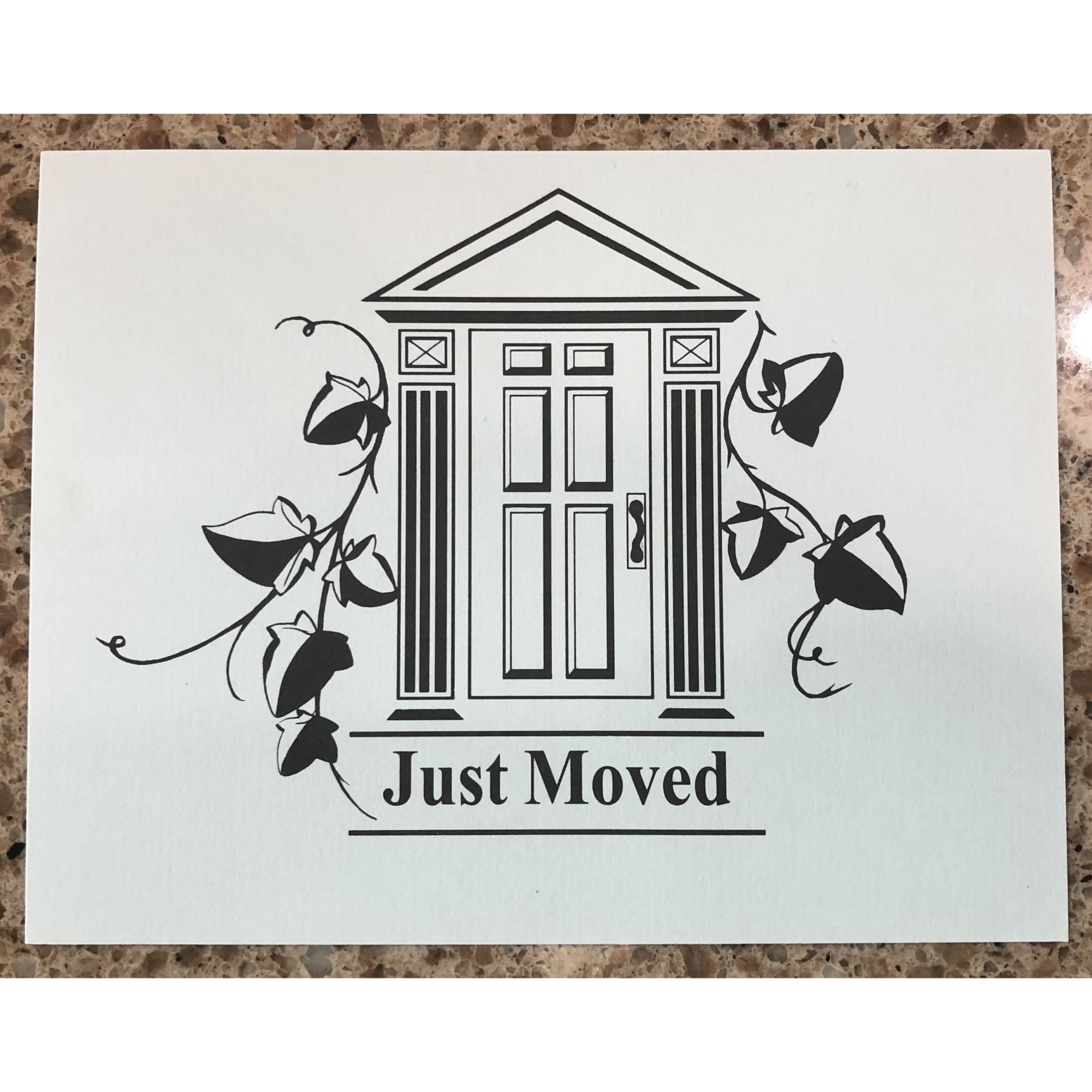 Just Moved Cards provided by WCREALTORS