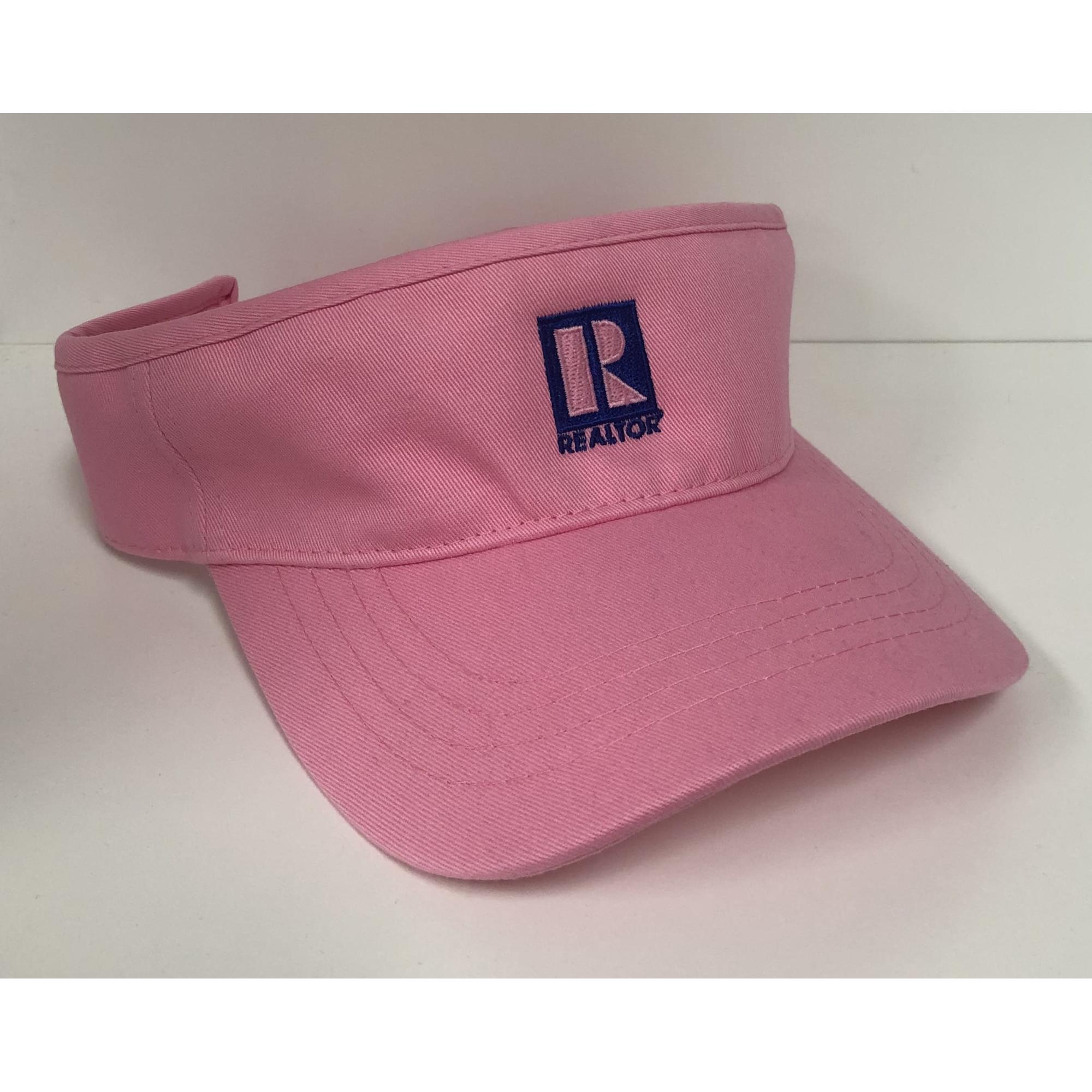 REALTOR® Visor Pink provided by WCREALTORS