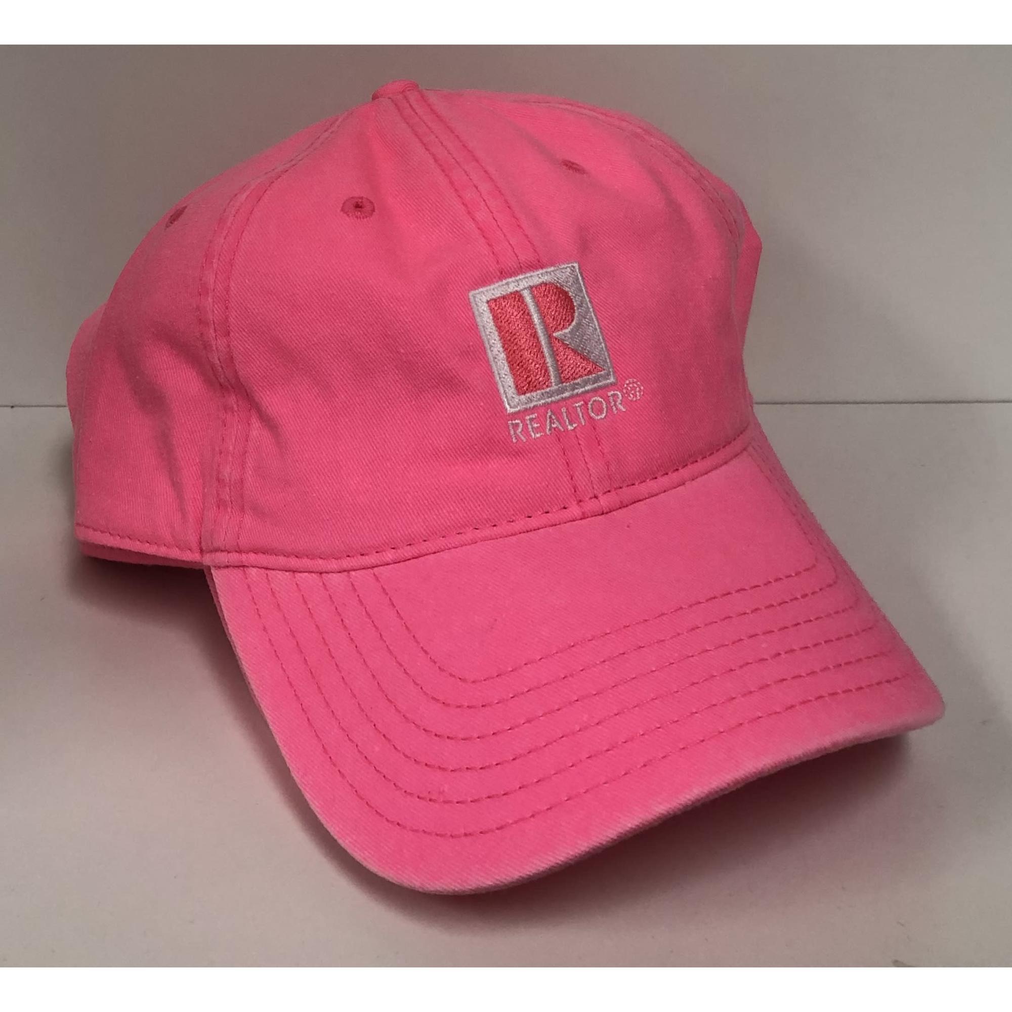 Hot Pink REALTOR® Ball Cap provided by WCREALTORS