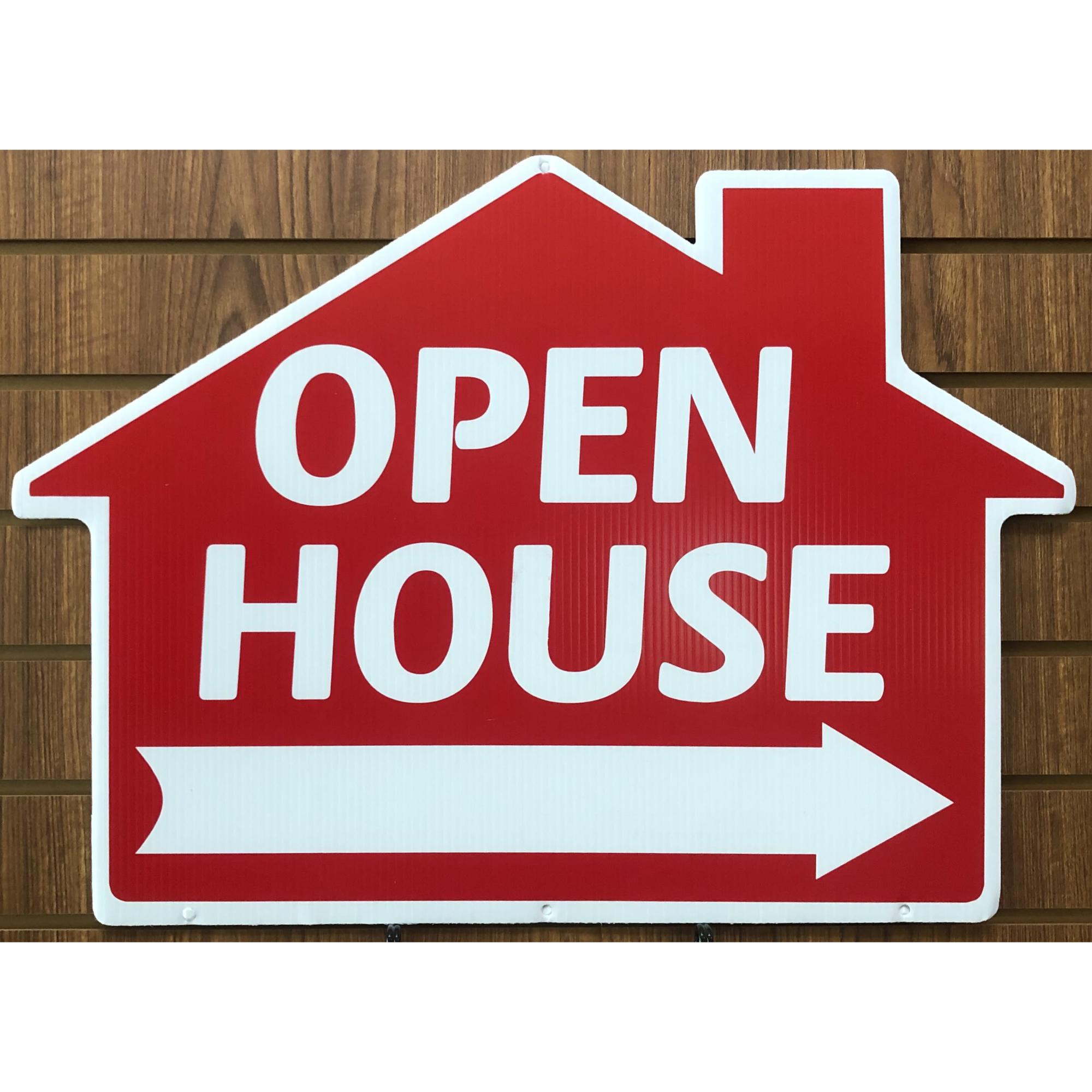 Open House___ -- House RED provided by WCREALTORS