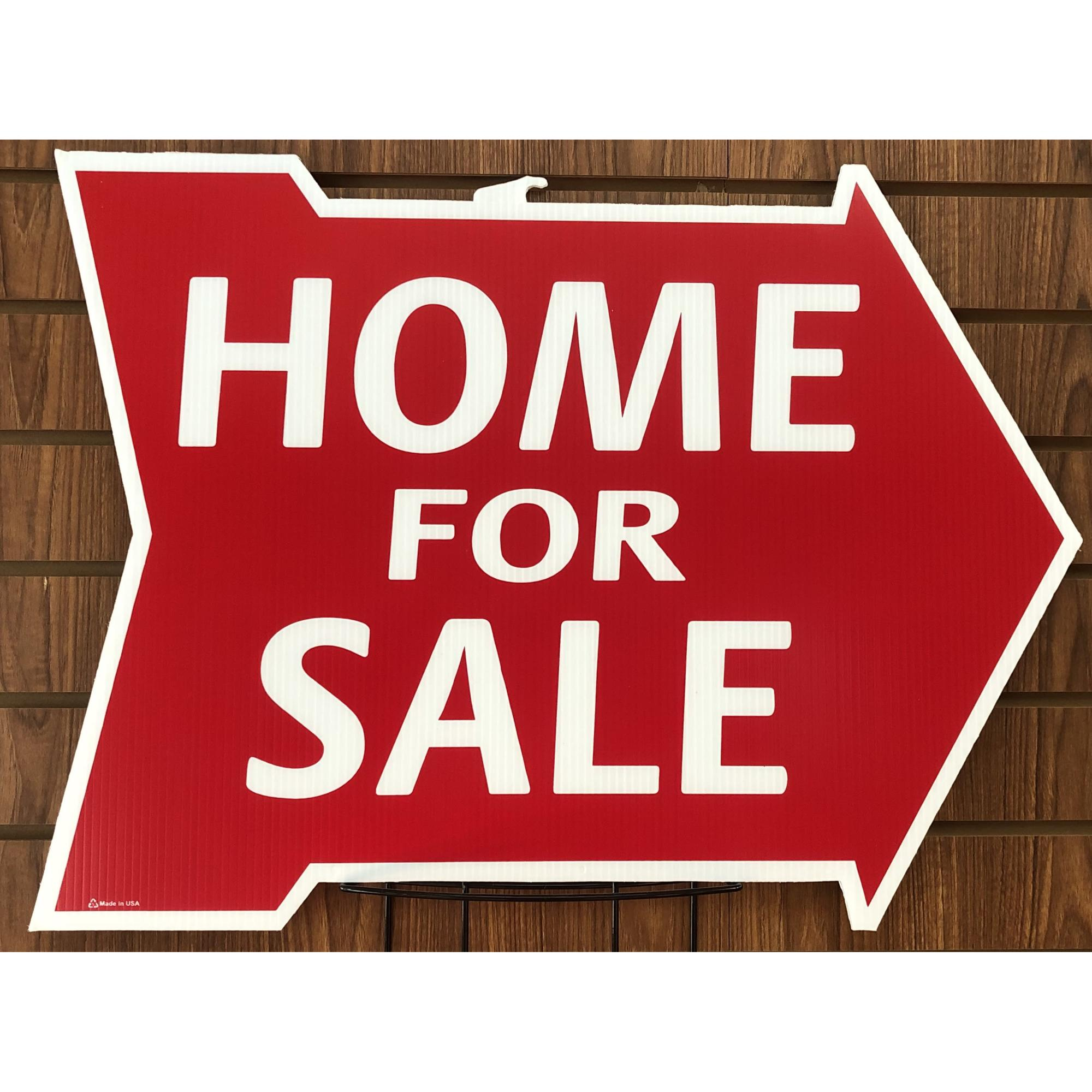 Home For Sale w/out Space -- Arrow Shape RED provided by WCREALTORS®