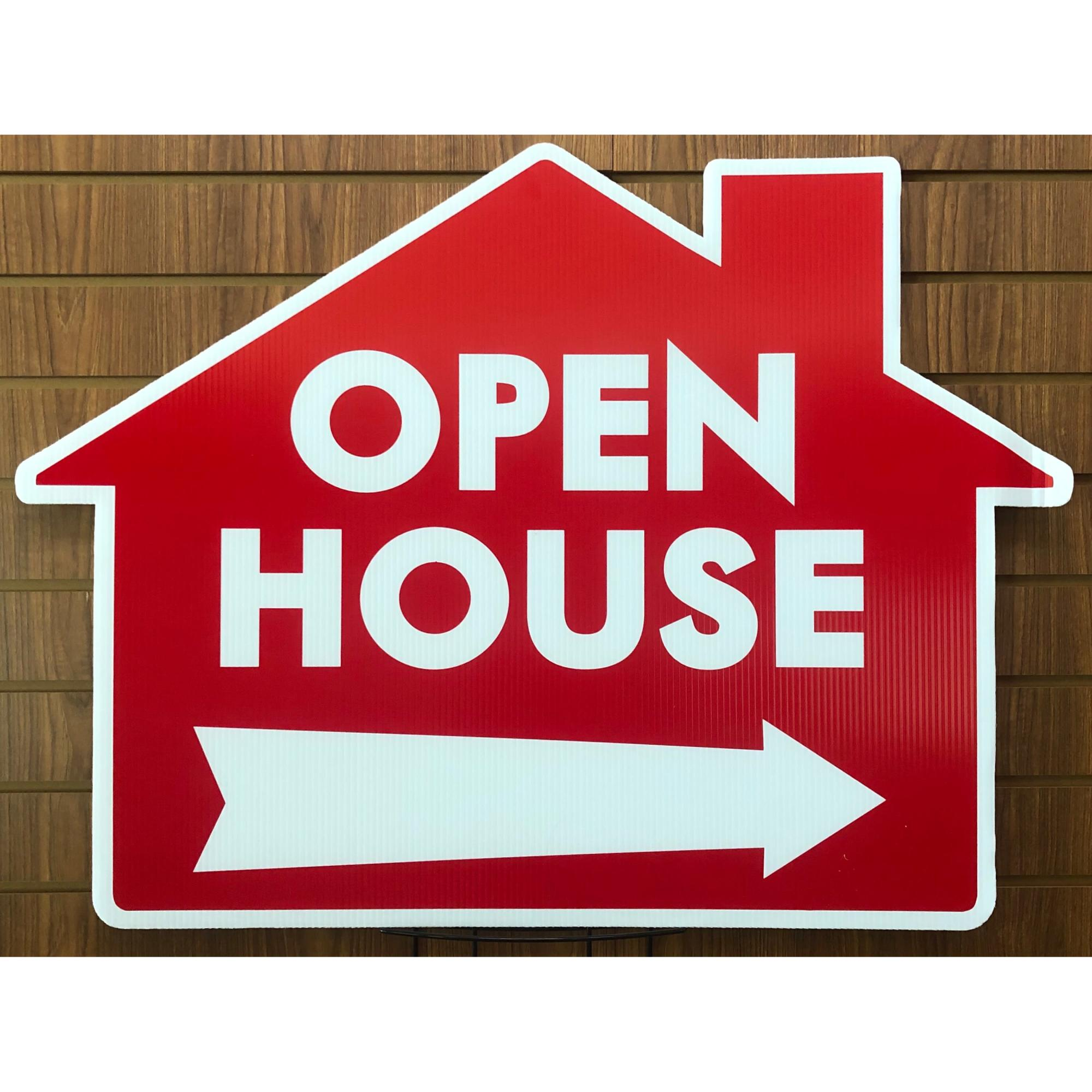 EXTRA LARGE Open House--House RED provided by WCREALTORS