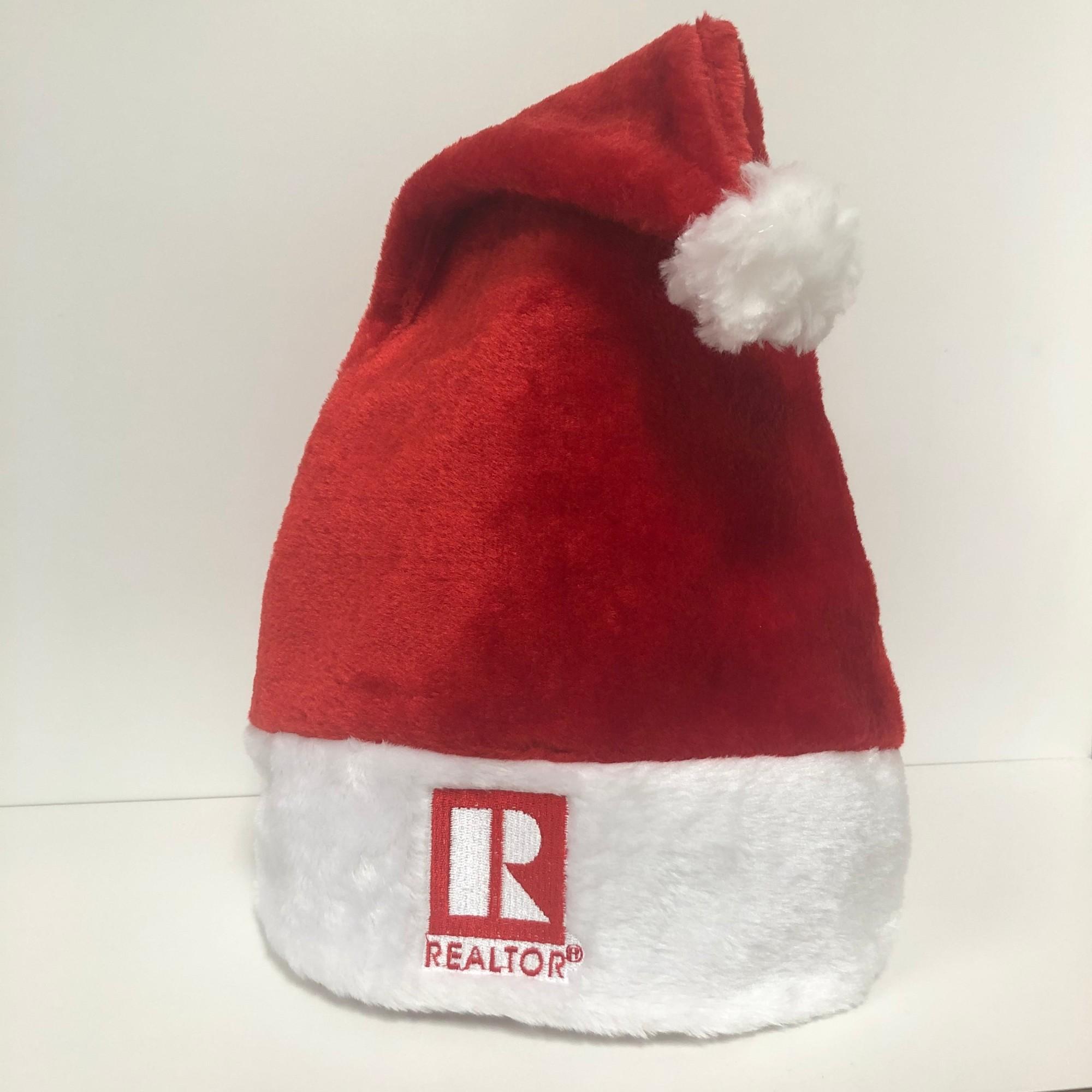 REALTOR, Santa hat, real estate, realtor holiday