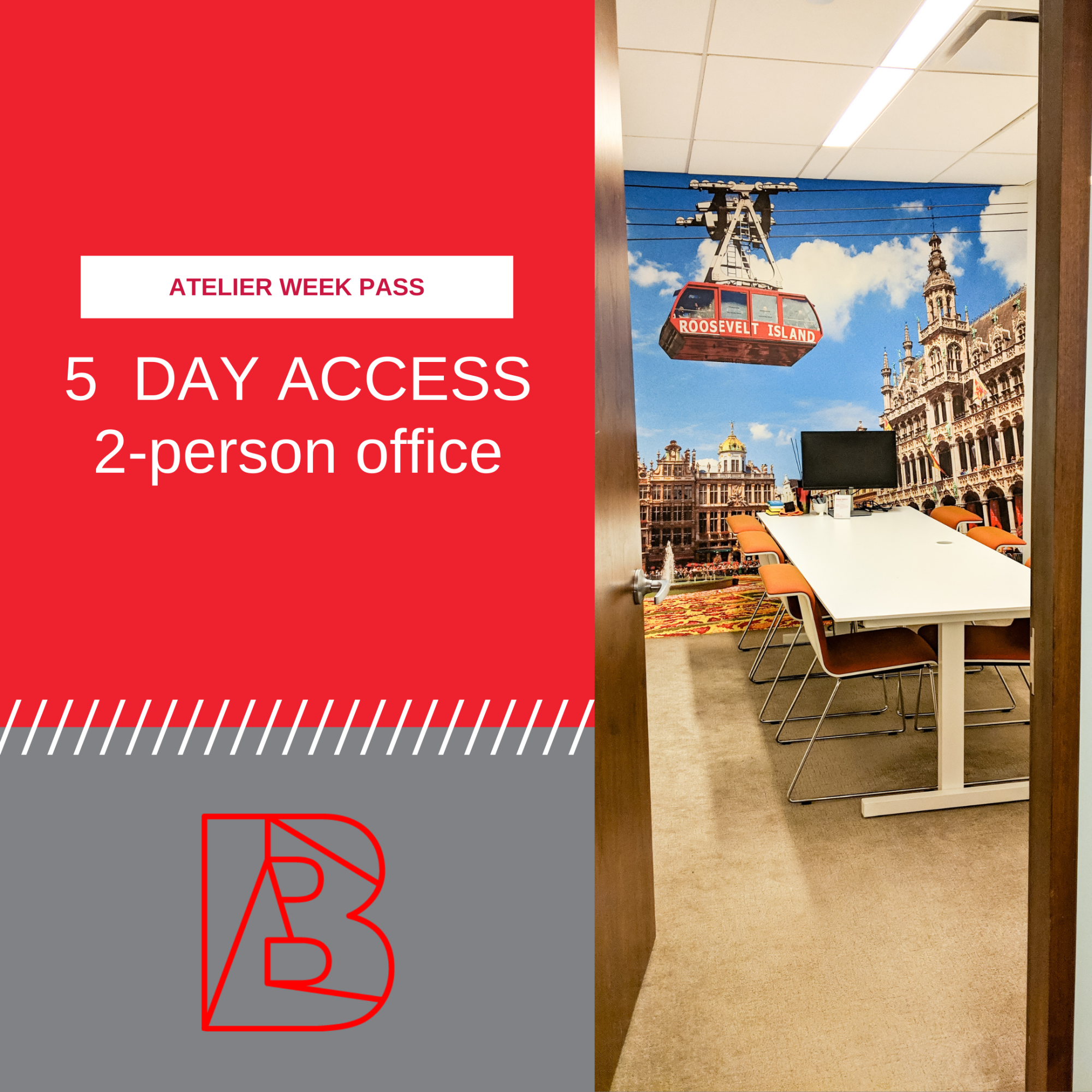 week pass for two person office