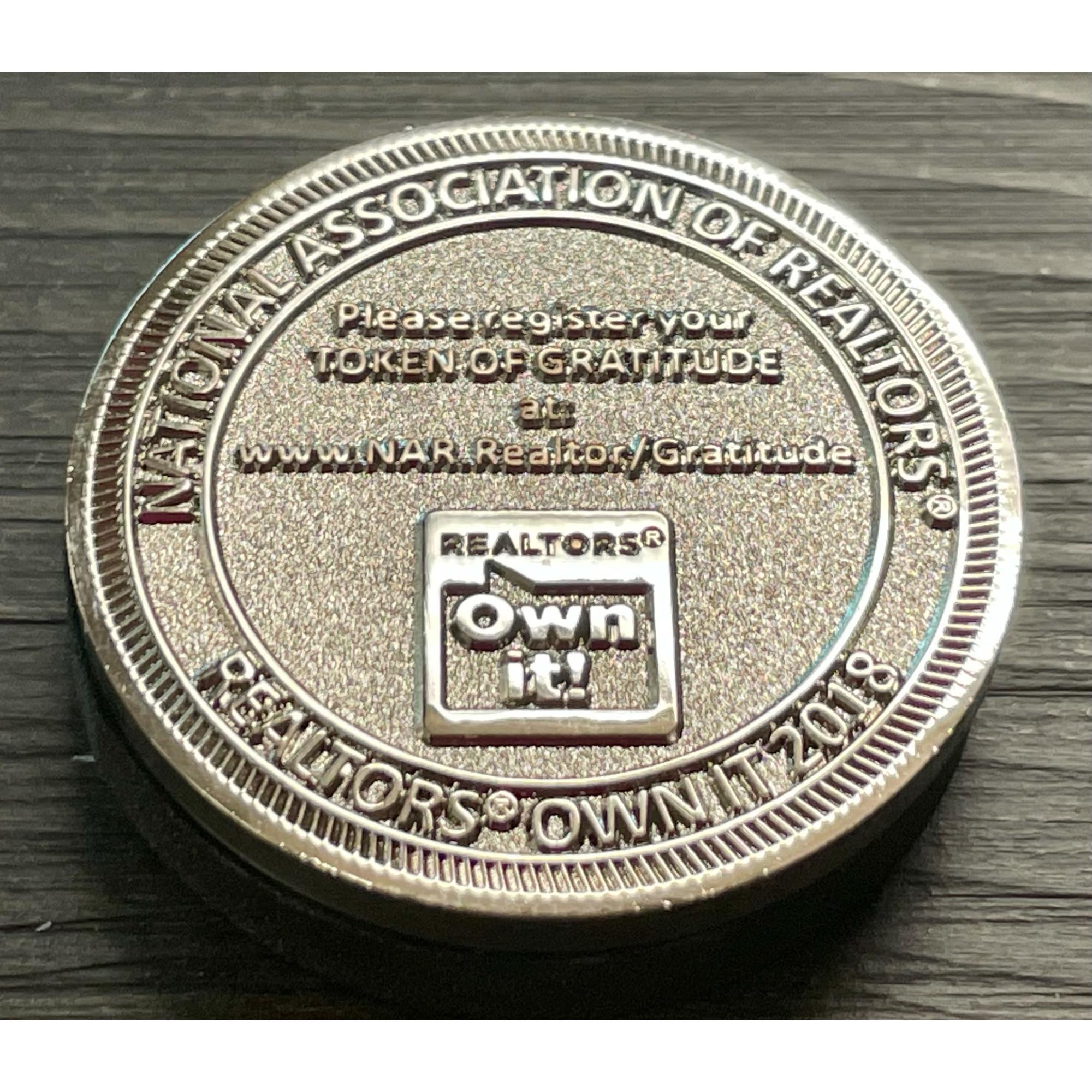 REALTOR® Own It! Gratitude Coin