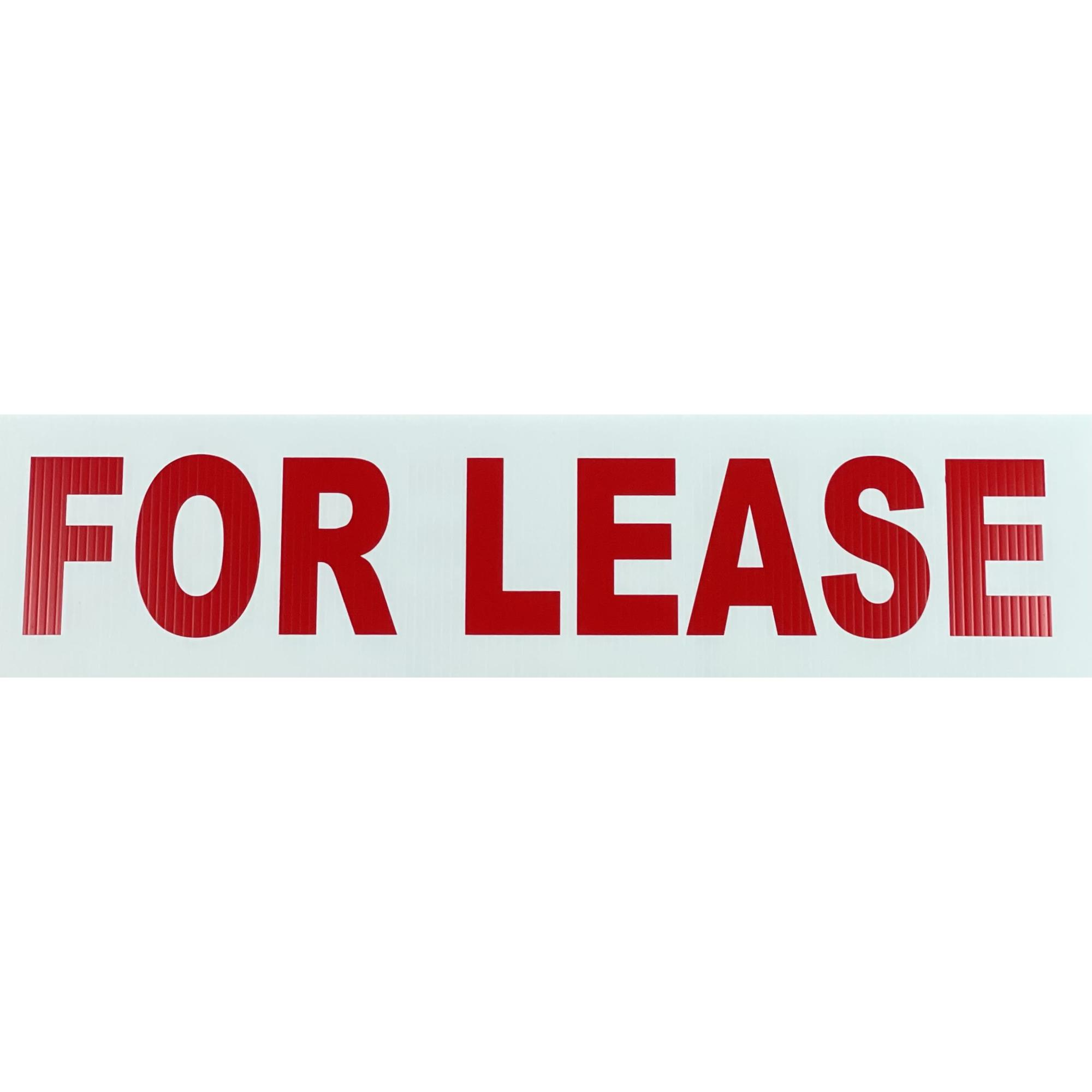 For Lease (6X24) RED provided by WCREALTORS®