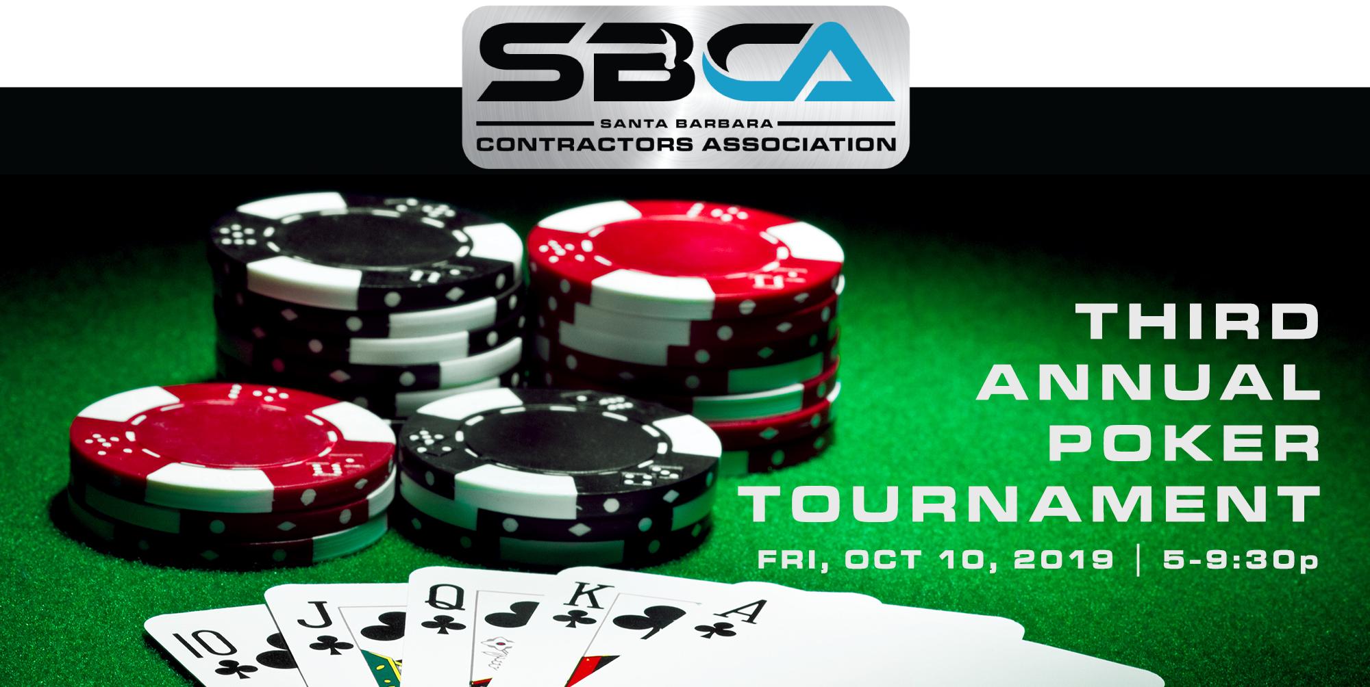 SBCA Poker Tournament 2019