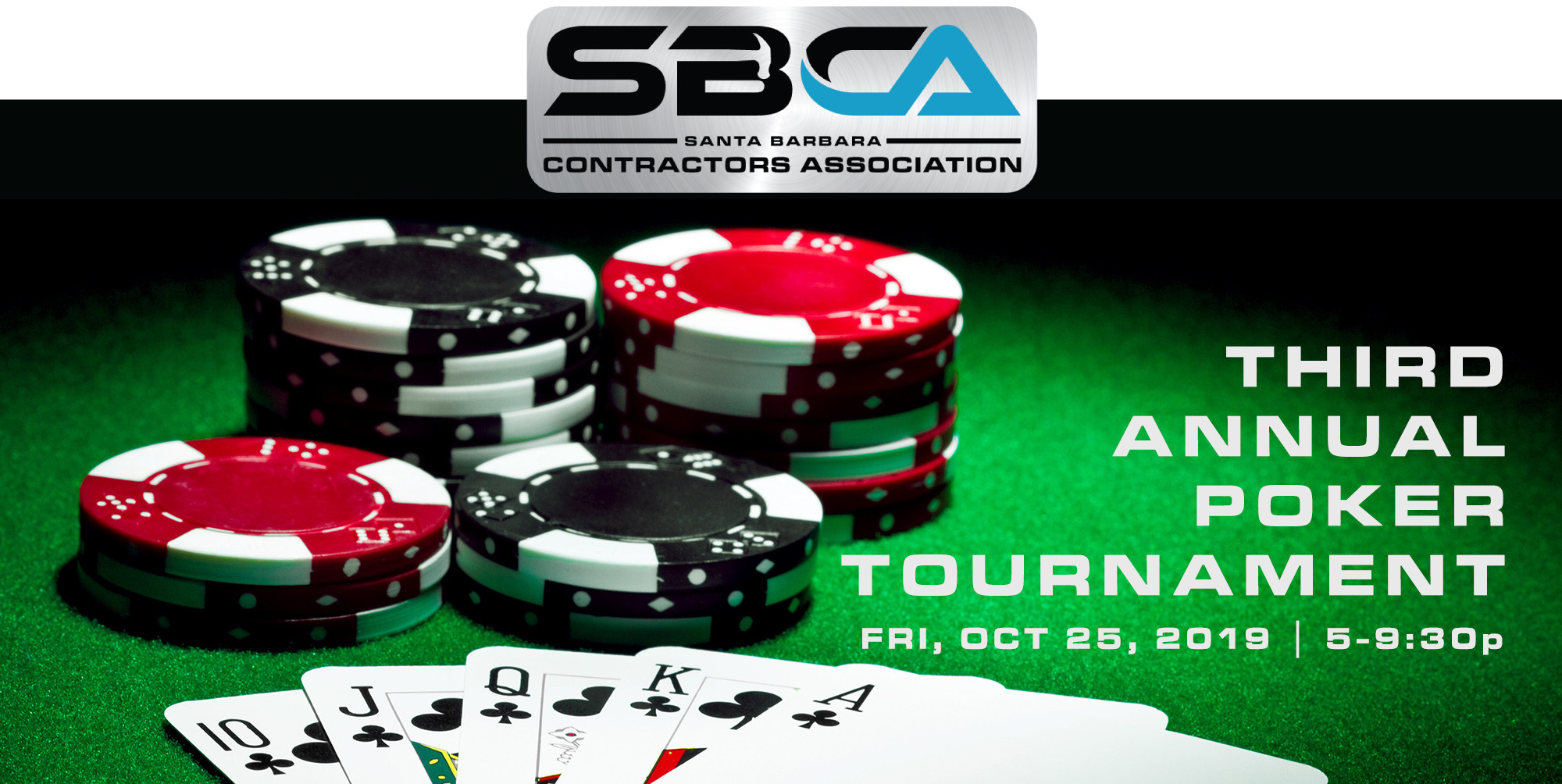 SBCA THIRD ANNUAL POKER TOURNAMENT