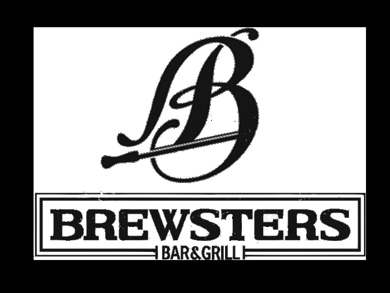 Brewsters Bar & Grill logo - 2021