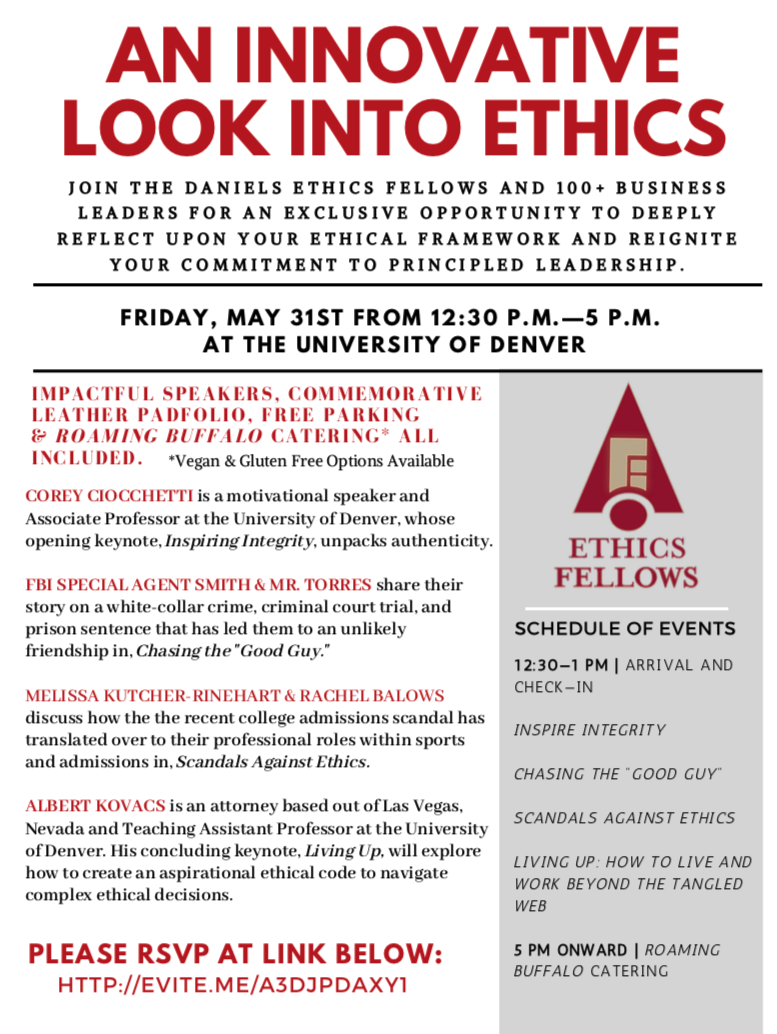 An Innovative Look Into Ethics GZ Events - Colorado