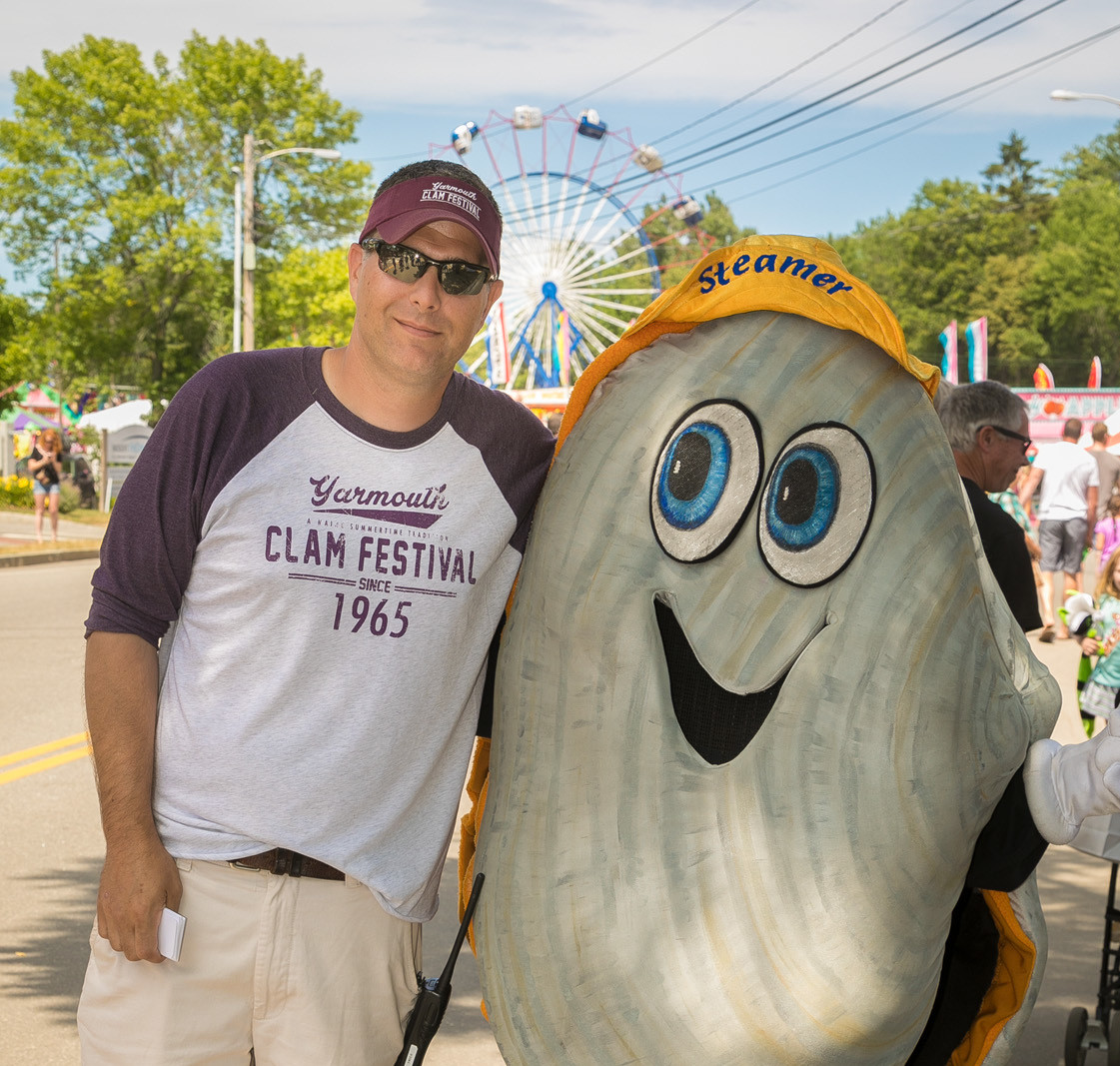 Join us for the Clam Festival! Always the 3rd Friday in July!