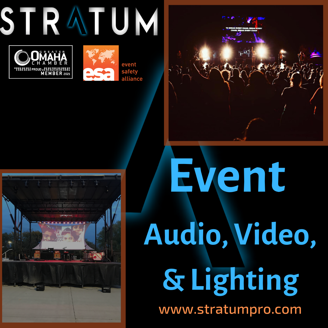 Live Event Audio, Video, & Lighting Services - Stratum Productions