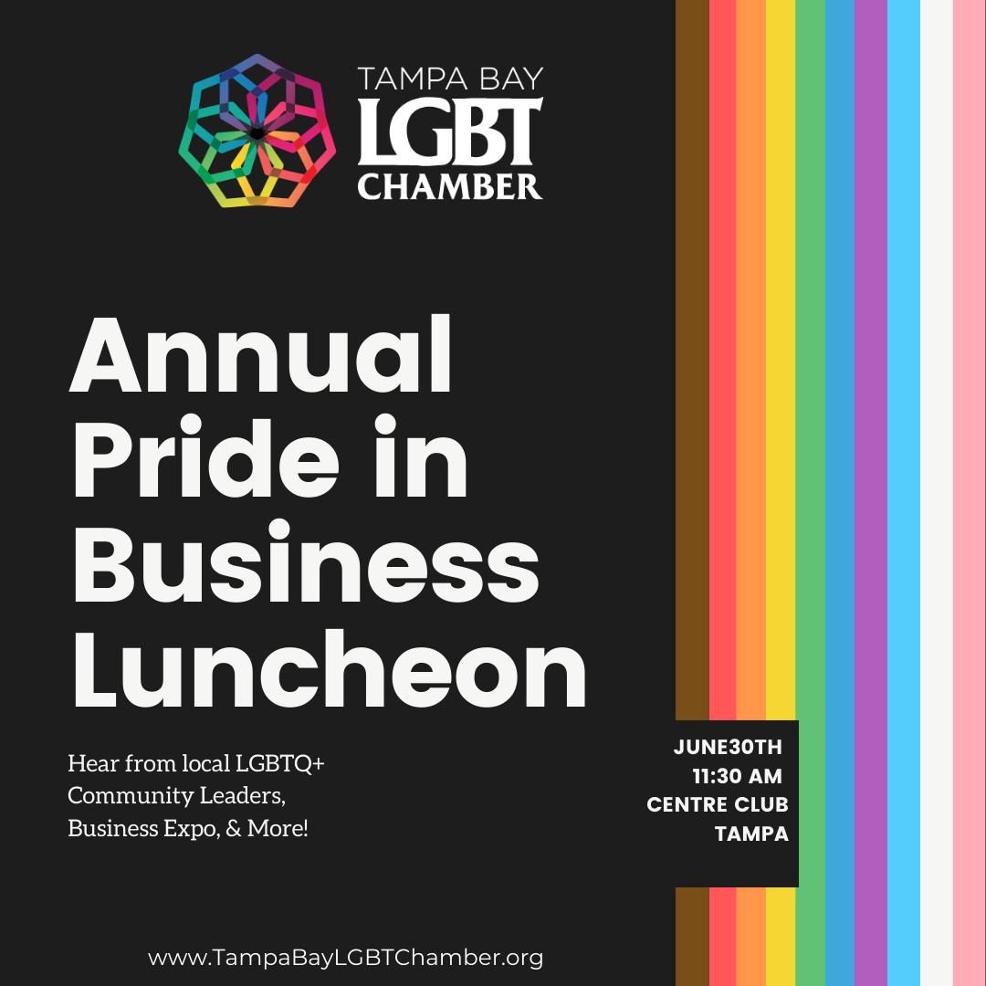 Pride in Business, Luncheon, Pride, Pride Lunchon, LGBT, LGBT Business, LGBT Chamber, Chamber of Commerce, Centre Club