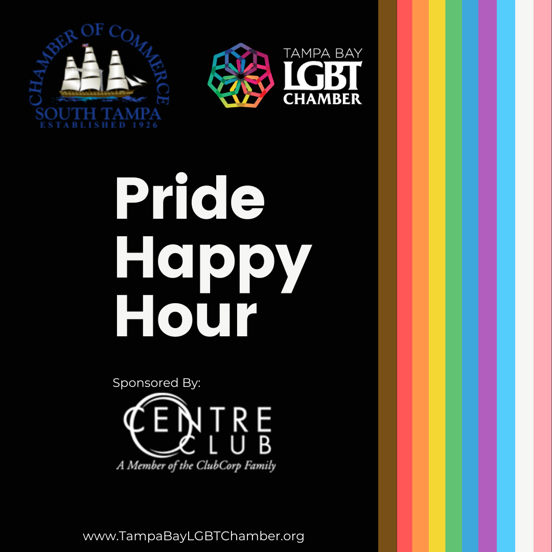 Pride, LGBT, LGBTQ, Pride Happy Hour, Centre Club, South Tampa Chamber, LGBT Chamber,