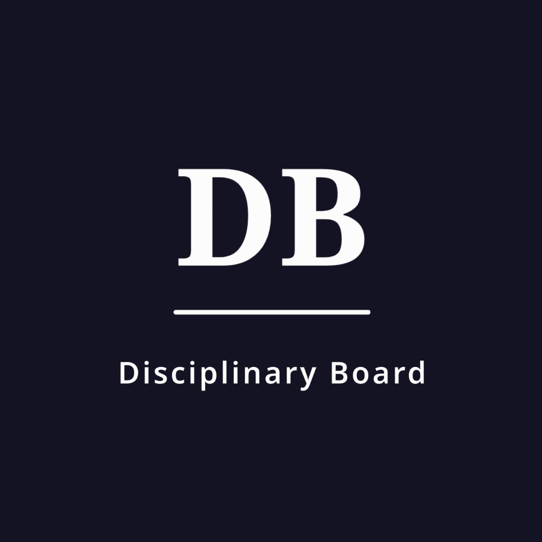 Disciplinary Board