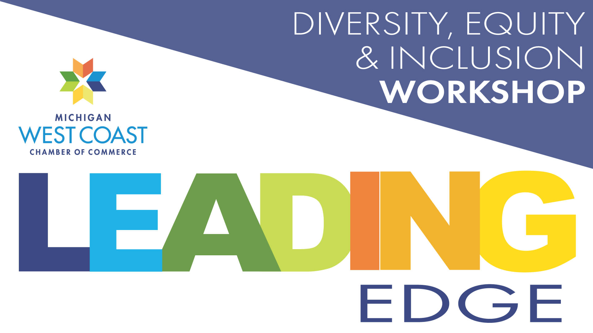 Leading Edge DEI Workshop Logo