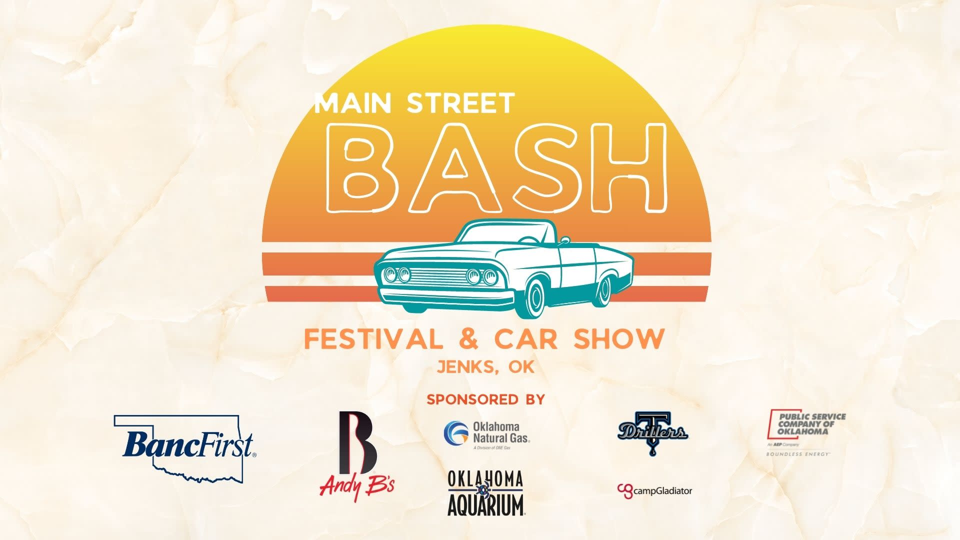 A graphic for the Main Street Bash Festival and Car Show on Sept. 18, 2021.
