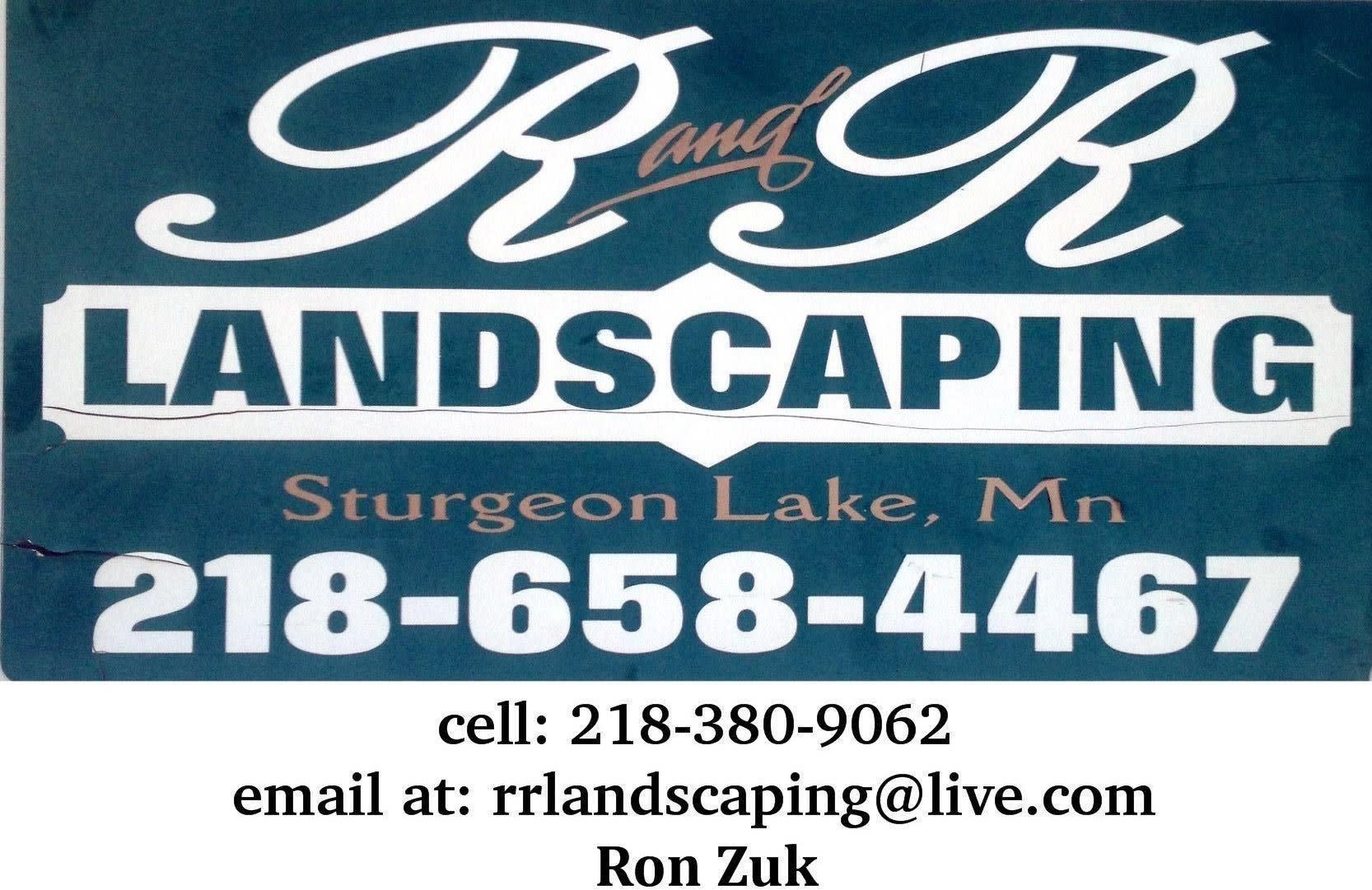 R & R Landscaping Logo