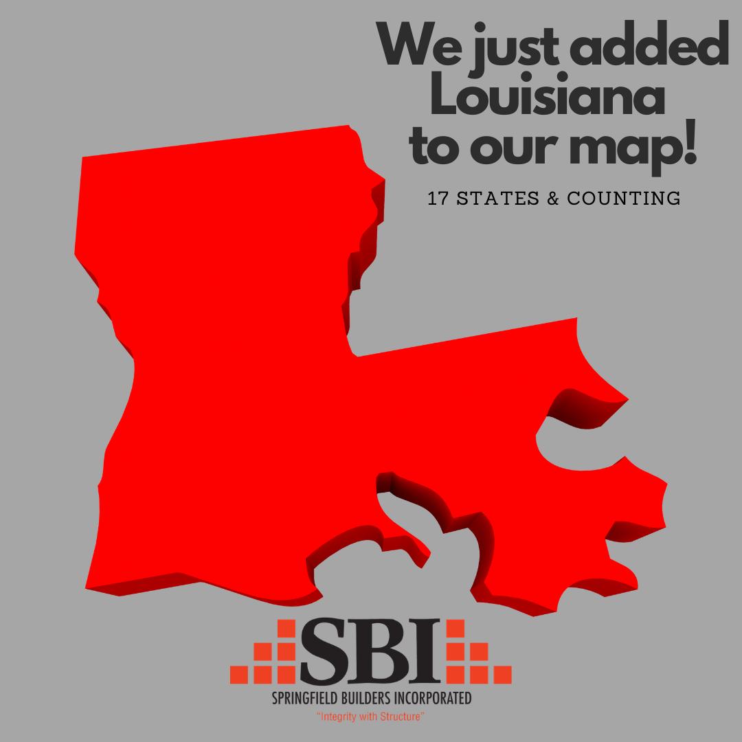 SBI adds Louisiana to map