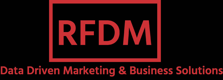 RFDM Data Driven Marketing & Business Solutions Logo