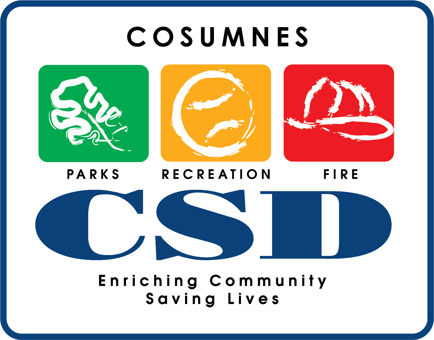 Cosumnes Community Services (CSD) logo - 2021