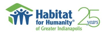 Habitat for Humanity - Greater Indianapolis