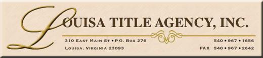 Louisa Title Agency