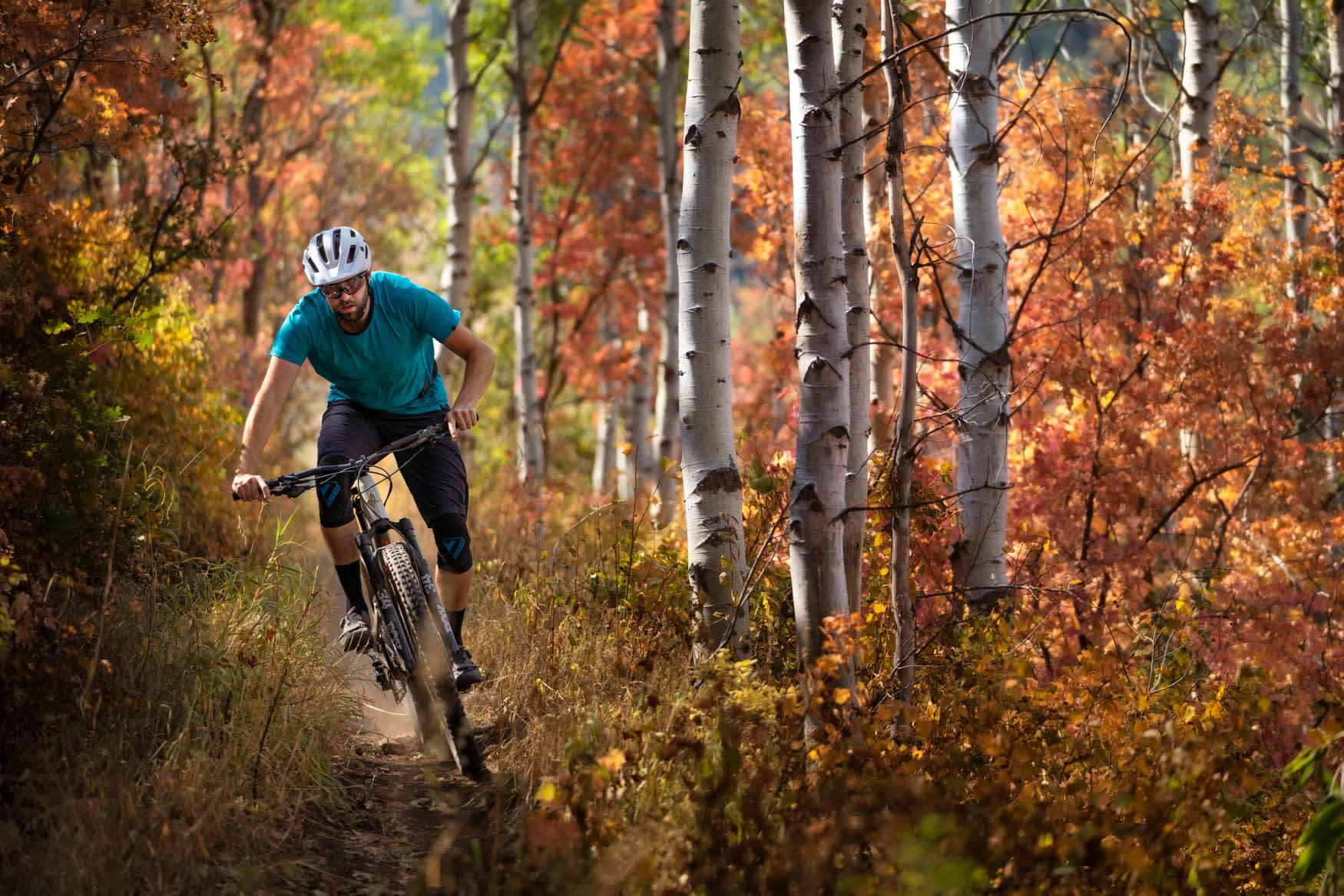 Fall in love biking in the outdoors!